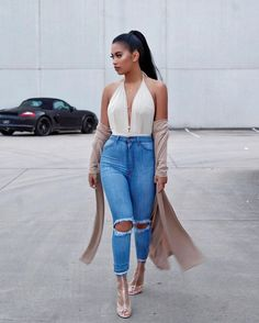 I hate cold wind jeans: @fashionnova (dc 'xostefney') / shoes: @simmishoes / hair: @luxuryforprincess (dc 'stefney' for $$ off) #ootd #casualslay #takemetoLAalready