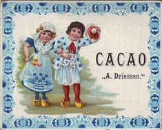 cacao driessen girl holding tulips and boy waving beret | by patrick.marks