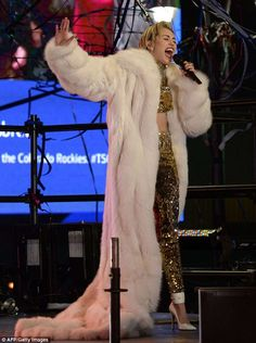 Miley Cyrus New Years Eve Performance Outfit: HIT or MISS?