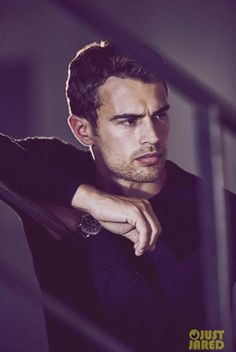 Theo James Is Smoldering in New Hugo Boss Photos (Exclusive Pics!) - that jawline I can't and he has just the right amount of stubble Theo James, Theodore James, Kevin James, James 3, Hugo Boss, Tris E Quatro, Boss The Scent, Amy Winehouse, Attractive Men