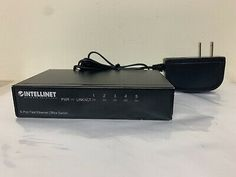 (eBay Link)(Ad) Network Solutions INTELLINET 5 Port Fast Ethernet Office Switch 10/100 Network Switch, Network Solutions, The 100, Link, Ebay