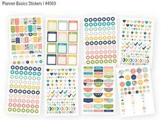 The perfect not so basic, #PoshCarpeDiem planner basic stickers for the #simestories planner!