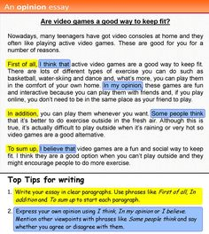 Need some help to get your students writing better? Here are some fantastic tips and activities from the LearnEnglish Teens – British Council site Also check a for and against essay http://learnenglishteens.britishcouncil.org/skills/writing-skills-practice/and-against-essay