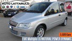 Auto Lattarulo | FIAT Multipla 1600 NATURAL POWER DYNAMIC http://affariok.blogspot.it/