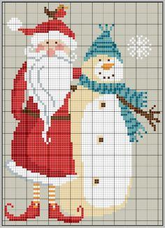 Papai Noel & Boneco de Neve