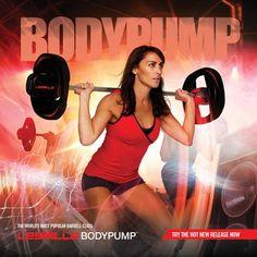 Throwback #BODYPUMP poster featuring the legendary Susan Tolj Renata.