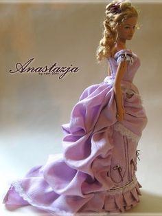 Anastasia - OOAK victorian Barbie by esefdolls, via Flickr