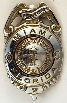 Florida Police Badges