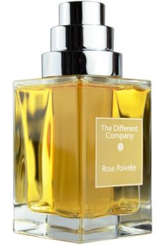 Rose Poivree The Different Company for women (reformulated, original is supposed to be pretty skanky)  rose, pink pepper, civet,  coriander, pepper, vetiver