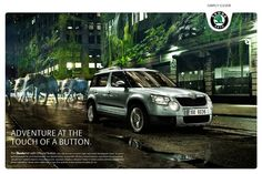Skoda Yeti campaign with background by maground.com Background Images, Campaign, Ads, Adventure, Inspiration, Dinner Suit, Biblical Inspiration, Wallpaper Backgrounds, Background Pictures