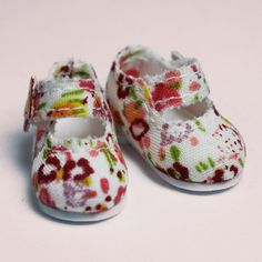 Flower Mary Janes for Lati Yellow