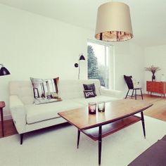 salongbord i teak Office Desk, Living Room, Interior, House, Furniture, Home Decor, Google, Image, Ideas