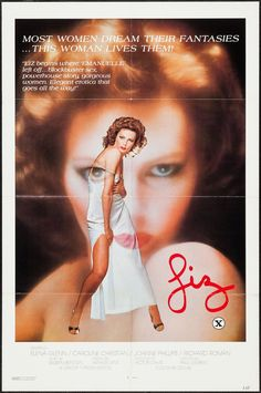 Liz Original 1977 Movie poster Adult Entertainment 27 X 41 Somewhat hard to find Today X Movies, Films, Movie 21, Matthew Mcconaughey, Film Posters, Lust, Psychology, Romance, The Originals