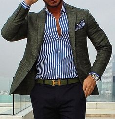 Discover recipes, home ideas, style inspiration and other ideas to try. Blazer Outfits Men, Mens Fashion Blazer, Outfits Casual, Stylish Mens Outfits, Mens Fashion Blog, Mode Outfits, Suit Fashion, Blazer With Jeans Men, Casual Blazer