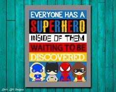 Superhero Wall Art. Superhero Room Decor. Superhero Classroom Decor. Superhero Sign. Superhero Inside. Superhero Teacher. Superhero Party.