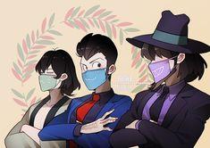 Profile Drawing, Lupin The Third, Haikyuu Karasuno, Samurai Jack, Cute Monkey, One Piece, Digital Art Girl, Kids Shows, Manga Comics