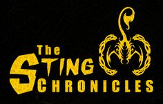 The Sting Chronicles Logo. I love how the Sting logo came out. It is graphic, punchy, and appropriately hardcore superhero. I think it is a strong symbol, and after all, it does have a lot of meaning for our young hero. Copyright 2013 Danielle Pajak Illustrations.