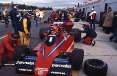 Niki Lauda au volant de sa Brabham-Alfa Romeo, 8 octobre 1978 | by Archives de la Ville de Montréal