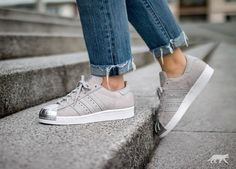 adidas Superstar 80s Metal Toe W (Clear Grey / Clear Grey / Metallic Silver)...I must locate these!!!!