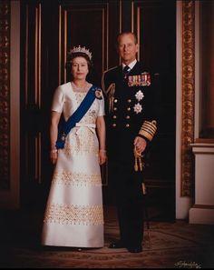 Her Majesty The Queen, Prince Phillip, Princess Charlotte, Queen Elizabeth Ii, Edinburgh, Duke, Royalty, Portrait, Formal