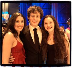 Spring Awakening Cast after Winning at the Tony Awards in 2007 | Lea Michele,Jonathan Groff,Lauren Pritchard (Spring Awakening cast members)