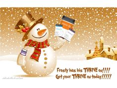 Frost has his THRIVE on!  www.debrabullis.le-vel.com  Come THRIVE with me!