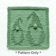 Dishcloth Knitting Patterns, Knit Dishcloth, Hand Knitting, Bulbous Nose, German Fairy Tales, Bobble Stitch, Pretty Green, Artwork Design, Washing Clothes