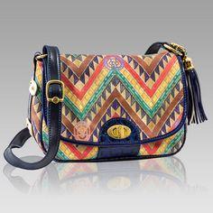 $418.75+-+Marino+Orlandi+Designer+Classic+WEST+Print+Leather+Purse+Messenger+Bag+[01MO3393GLBE]+:+Italian+Leather+Handbags,+Top+Rated+Designer+Hand+Bags,+Trendy+Designer+Handbags