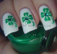 ThatsSOfresh: St.Patricks Day Nails!
