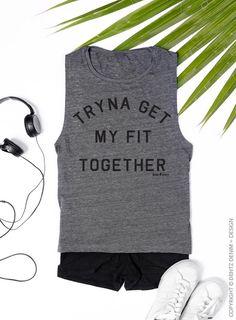 Gym shirt Yoga Tank Boss Girl Muscle Tank beachbody shirt yoga shirt hiking shirt funny shirt Womens Tank gym shirt Boss Lady funny workout Shirt Killing It workout shirt