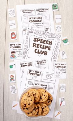 Students will learn how to sequence a recipe visually by using black and white or color cards and they can take home the recipe sheets to share with mom and dad. Or have them color and prepare a double-sided 12 half-sheet mini-book with all of the steps required to make cookies. Ask students to compare and contrast ingredients and answer WH-questions. CONTENTS: Includings: -Step-by-Step Recipe -Recipe Mini-Book -Story Retell -WH-Questions -Ingredients Matching Game -Compare & Contrast & more!