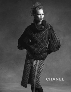 ☆ Anna Ewers | Photography by Karl Lagerfeld | For Chanel Campaign | Fall 2015 ☆ #Anna_Ewers #Karl_Lagerfeld #Chanel #2015