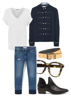 """""""British..."""" by mars1128 on Polyvore featuring Kate Spade, WearAll, MANGO, Ann Demeulemeester, Steve Madden, men's fashion and menswear"""
