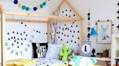 Van tipi tent naar bedhuisje: dit zijn de leukste bedden voor de kidsroom