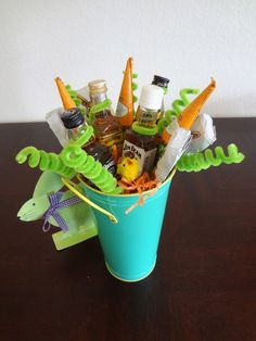 Easter cheeto basket gift ideas pinterest easter what does one put in a grown mans easter basket the makings of his favorite negle Gallery