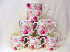 Palace Mug made for Heron Cross Pottery (Summerrose)