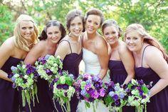 I Love the style of this whole wedding <3 <3 <3 http://www.weddingchicks.com/gallery/vintagepurpleandgreenwedding/