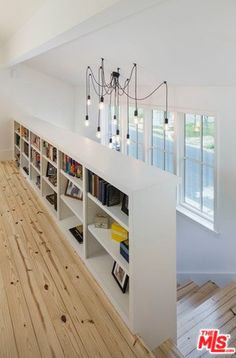 Bookcase Stairs, House Stairs, Attic Bedrooms, Attic Storage, Suites, Home Reno, Home Projects, Home Remodeling, House Plans