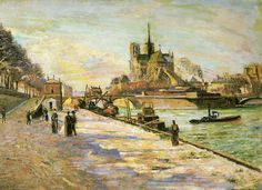 Armand Guillaumin - Notre Dame de Paris, MNBA - Armand Guillaumin — Wikipédia