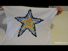 Cómo estampar una camiseta con ceras de colores | facilisimo.com