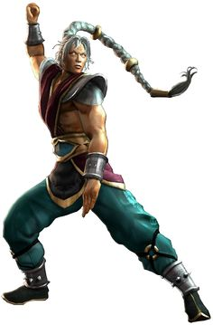 Fujin - Mortal Kombat, official art. Aw I love Fujin.