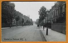 Warwick Avenue Warwick Avenue, Maida Vale, London Life, London Photos, Local History, West London, Historical Photos, Old Photos, Places To See