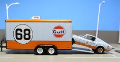 GreenLight Gulf Hitch & Tow + Ford Mustang