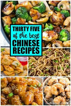 Sheet Pan Cashew Chicken from The Recipe Critic is an easy and healthy weeknight meal! Its made with an incredible sweet and savory sauce! Best Chinese Food, Easy Chinese Recipes, Asian Recipes, Healthy Recipes, Ethnic Recipes, Seafood Recipes, Chicken Recipes, Cooking Recipes, Noodle Recipes