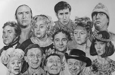 The Carry On Team - Bernard Bresslaw, Jim Dale, Terry Scot, Peter Butterworth, Hattie Jacques, Joan Sims, Kenneth Connor, Amanda Barrie, Barbara Windsor, Charles Hawtrey, Kenneth William, Sid James