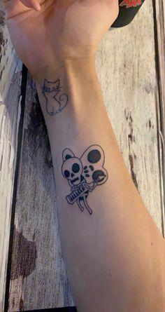 Tiny Skull Tattoos, Red Ink Tattoos, Back Tattoos, Small Tattoos, Tattoos For Guys, Dream Tattoos, Future Tattoos, Pretty Tattoos, Cool Tattoos