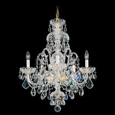 Buy the Schonbek Polished Silver Direct. Shop for the Schonbek Polished Silver Olde World 5 Light Wide Crystal Chandelier with Swarovski Spectra Crystals and save. 5 Light Chandelier, Chandelier Shades, Schonbek Chandelier, Swarovski Crystals, Ceiling Lights, Victorian Chandeliers, Oriental Rugs, Kilims, Lighting Ideas