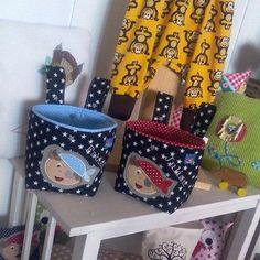 Lenkertaschen - Lenkertasche für Zwillinge - ein Designerstück von Chiara04 bei DaWanda