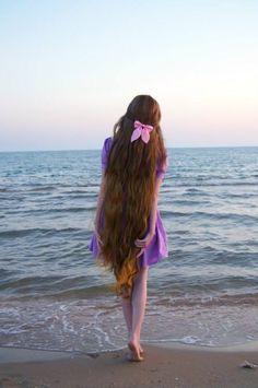 So growing my hair that long