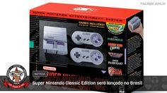 É uma notícia bem animadora para quem cogita comprar o aparelho.  #SNESClassicEdition #SNESClassicMini #Nintendo #SuperNintendo #SNES #VaoJogar #VideoGames #Games #InstaGames